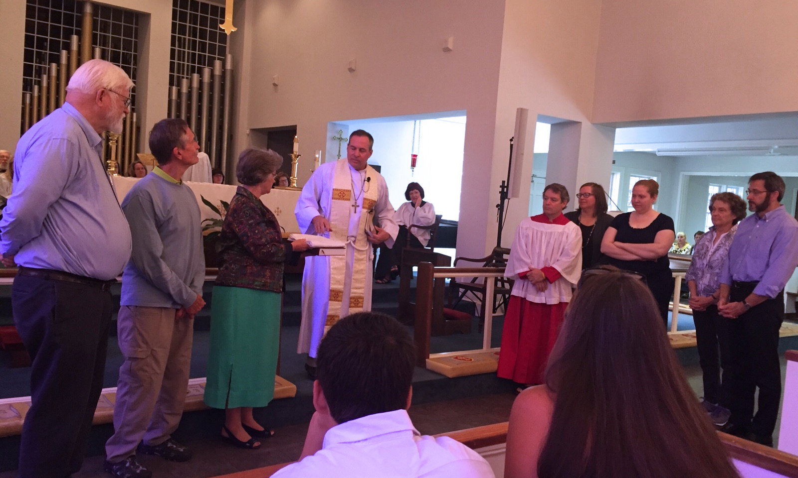 Blessing of the Dominican Mission Team